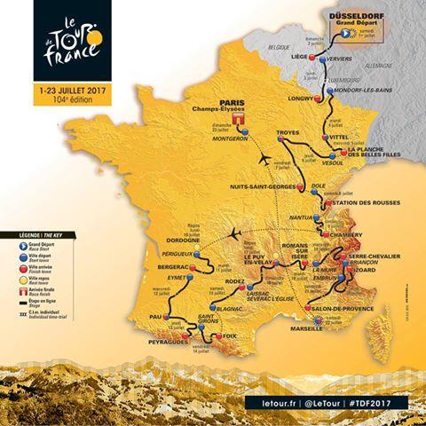 Le tour de France 2017 par Century21 Longchamp