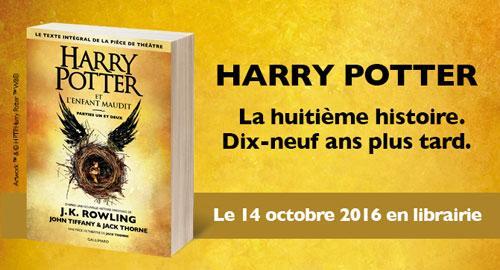 Sortie Harry Potter 8